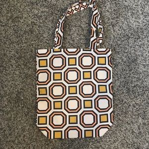 NIB TORY BURCH canvas tote bag